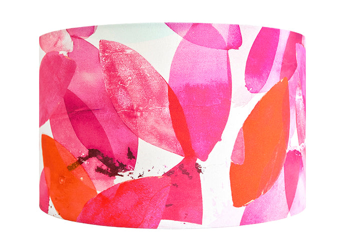 Falling Leaves in Autumn lampshade - large - by Anna Jacobs