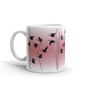 Welsh Reflection in Rose mug