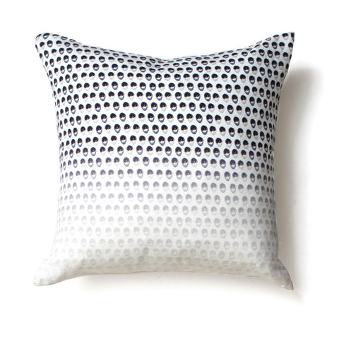 Seeing in black & white <br />linen cushion