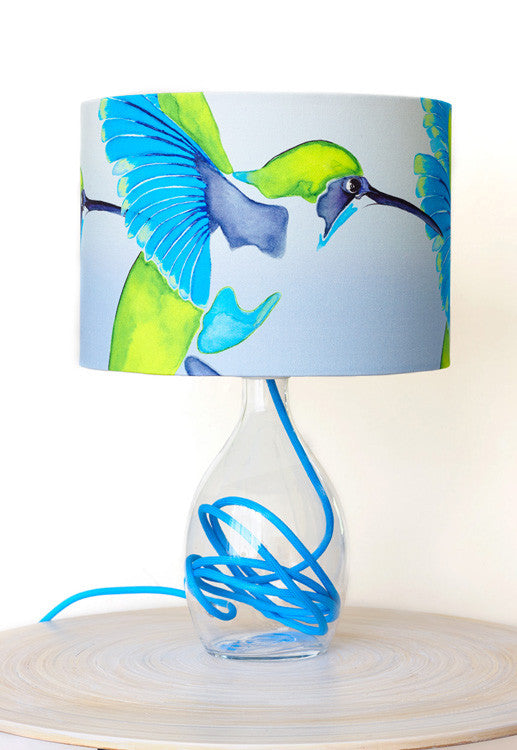 Lamp base<br />Cyan blue flex