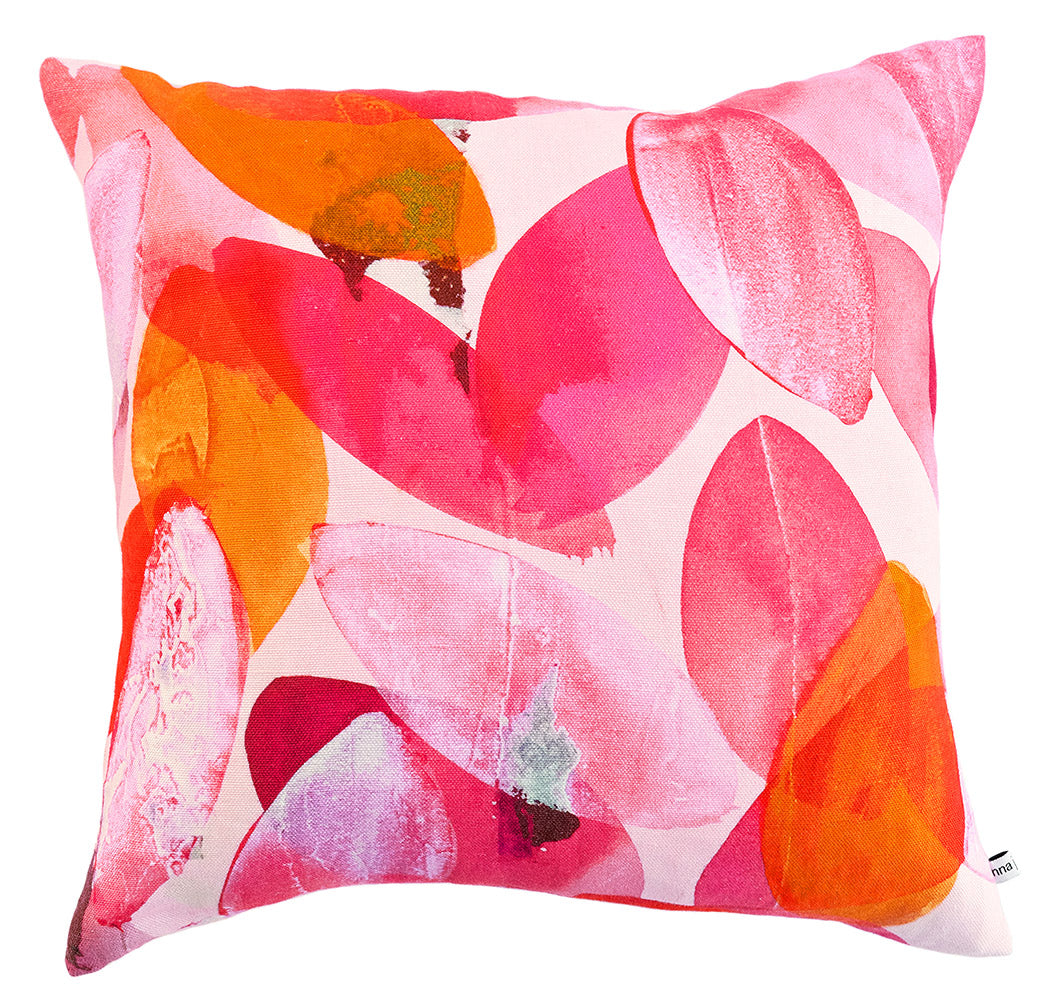 Falling Leaves in Autumn cushion b y Anna Jacobs