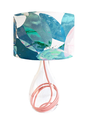 Falling Leaves in Winter medium lamp on Rose flex by Anna Jacobs