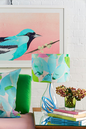 Falling Leaves in Summer medium lamp by Anna Jacobs - lifestyle