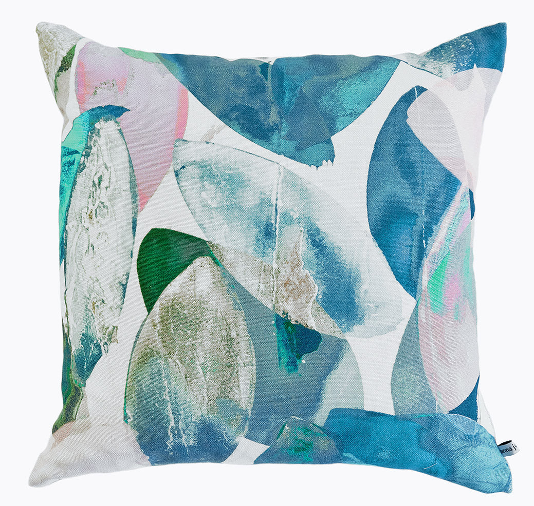 Falling Leaves in Winter<br />linen cushion
