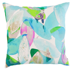 Falling Leaves in Summer<br />linen cushion