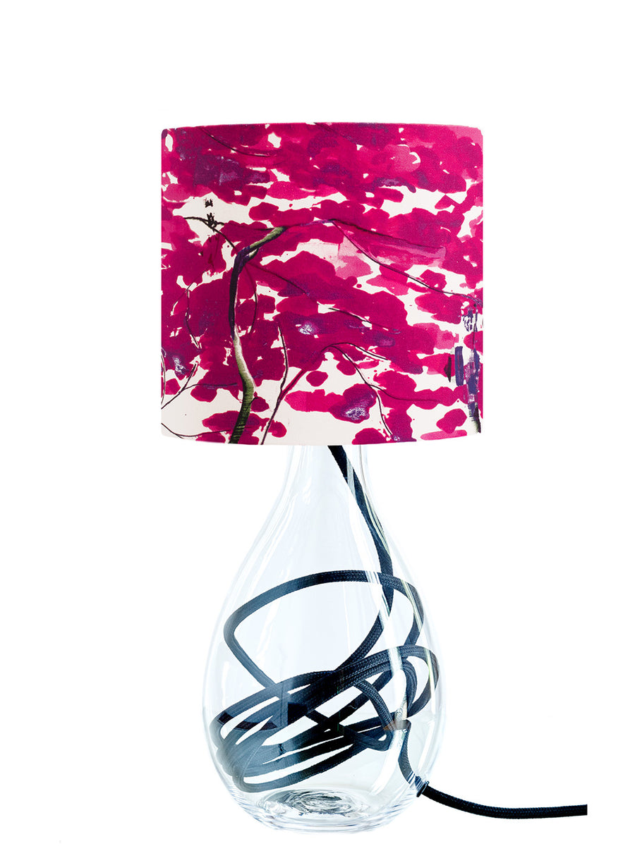 Chinese Tree in Pink and Violet lamp<br>SMALL, 3 flex colour options