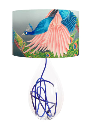Flying Peacock lamp<br>LARGE, 4 flex colour options