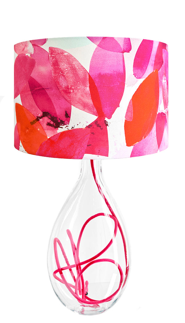 Falling Leaves in Autumn lamp<br />LARGE, 2 flex colour options