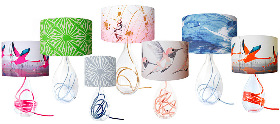 Learn to make a lampshade with Anna Jacobs at Heal's Kingston 3rd November