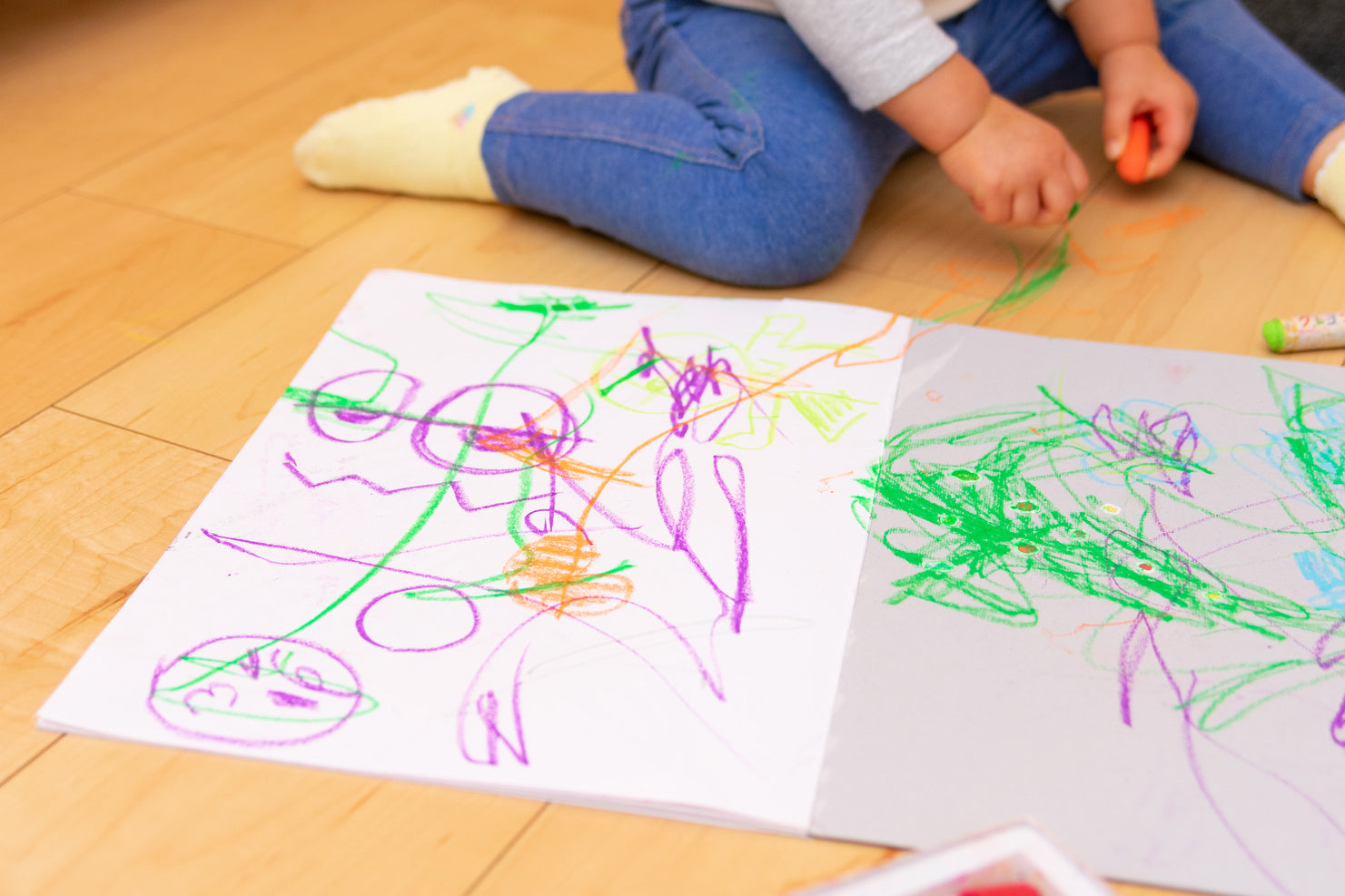 The Best Ways to Get Crayon Off Floors and Walls: Hacks 101