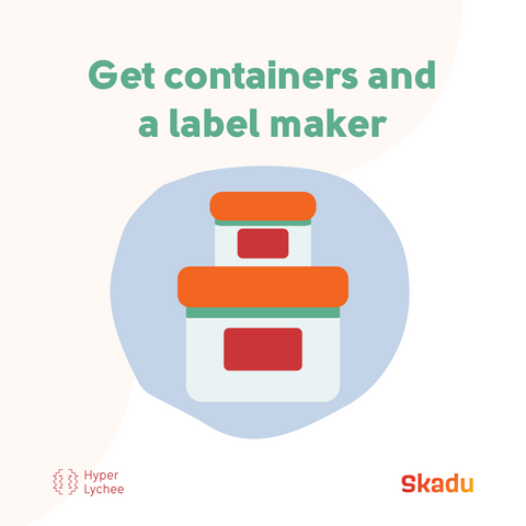 Get container and label maker