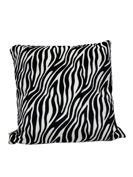 Wild Zebra Cushion