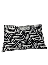 Load image into Gallery viewer, Wild Zebra Cushion