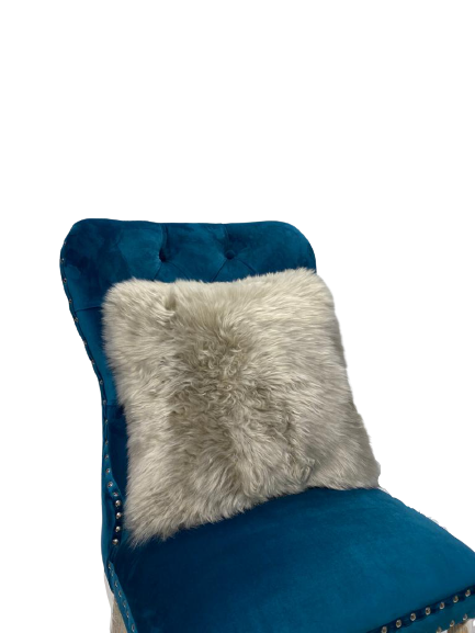 Sheep Skin Cushion Cover