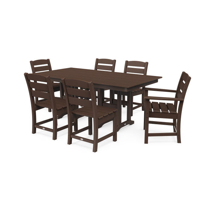 Lakeside 7-Piece Farmhouse Dining Set
