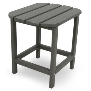 "South Beach 18"" Side Tables - Slate Grey - Express Delivery"