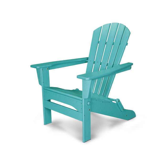 Palm Coast Folding Adirondack Chair - Aruba - Express Delivery