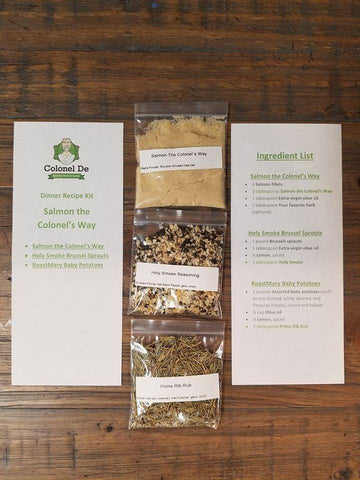 Colonel De's, Colonel De, Herbs, Spices, Seasonings, Salts, Peppers, Penzeys, McCormick's, Durkee, Spice House, Savory, Spice Jungle, Herbco, American Spice, Rub, Foodie, Recipe, Cooking