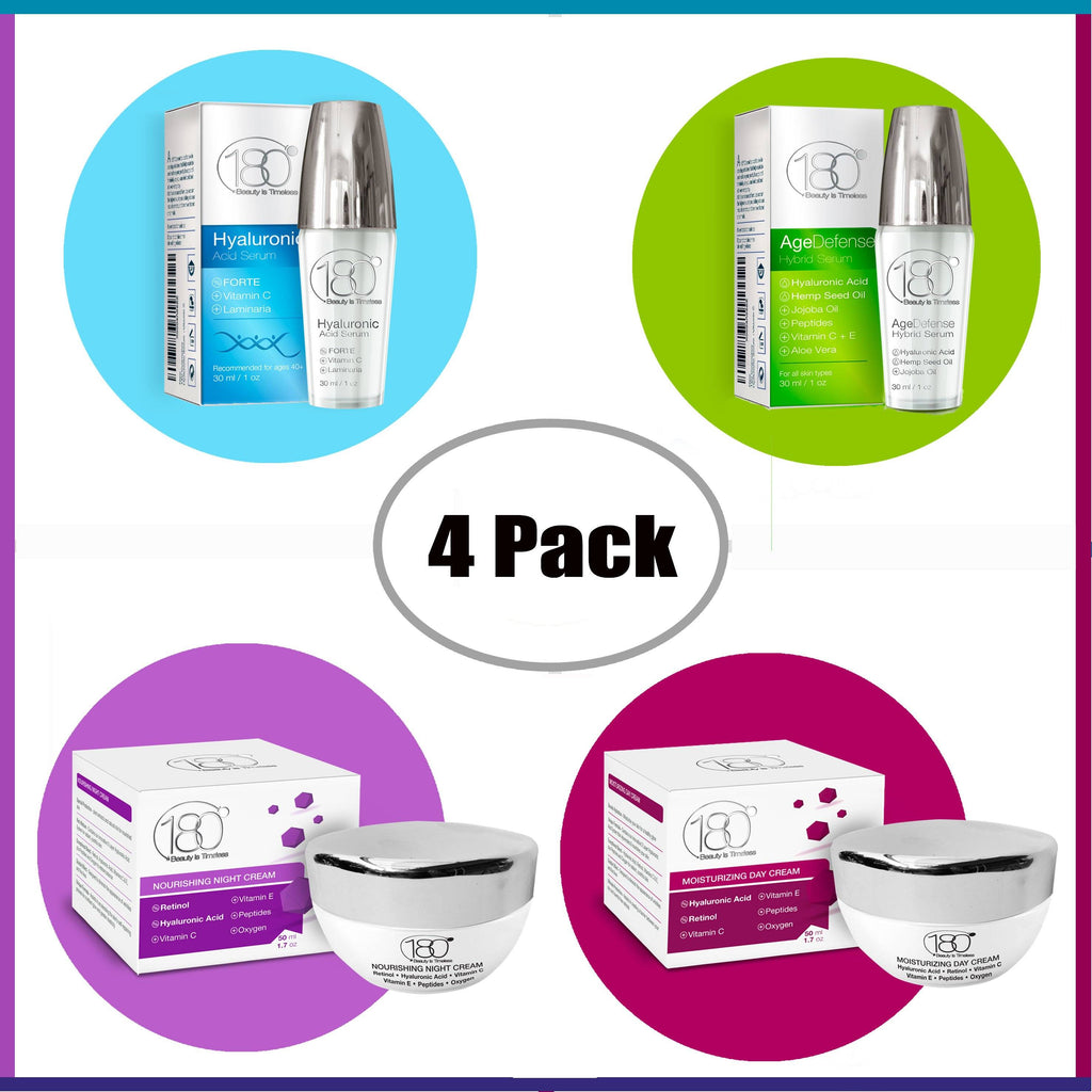 Hyaluronic Acid 4 Products Summer Time Bundle