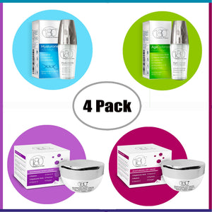 Hyaluronic Acid 4 Products Winter Time Bundle