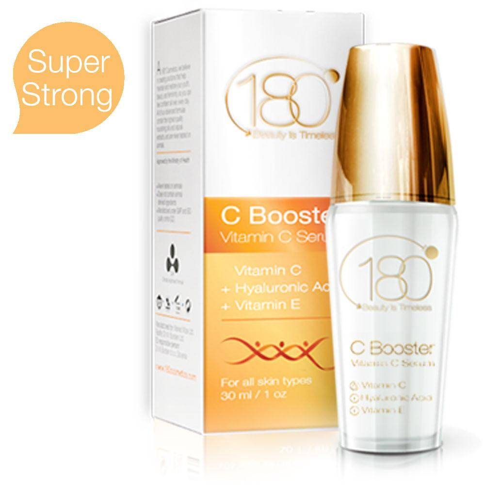 C Booster - Vitamin C Serum with Hyaluronic Acid and Vitamin E (30ml)