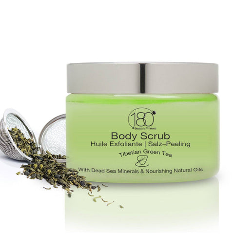 Salt and Oil Body Scrub - Tibetan Green Tea
