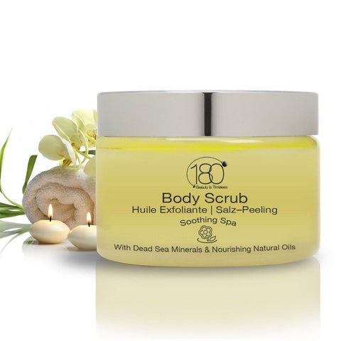 Image of Salt and Oil Body Scrub - Soothing Spa