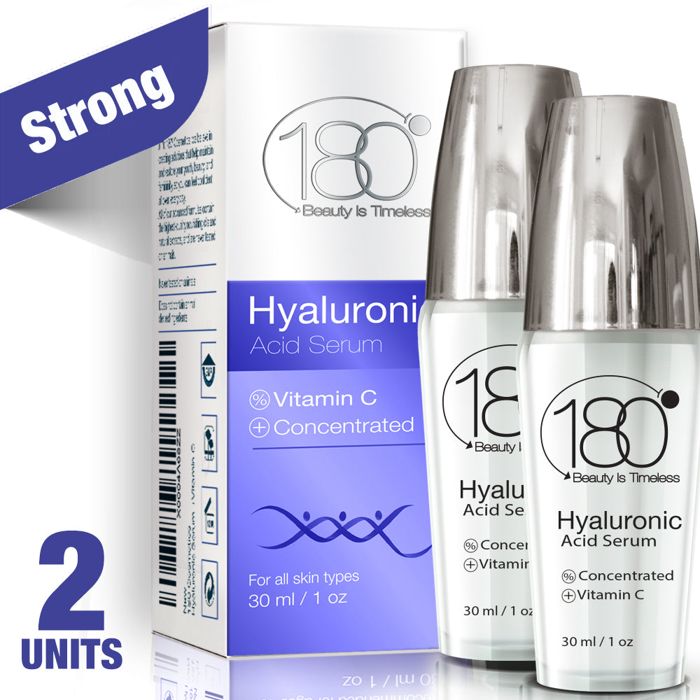 2X Hyaluronic Acid Serum + Vitamin C (30ml)