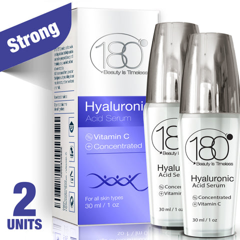 Image of 2X Hyaluronic Acid Serum + Vitamin C (30ml)