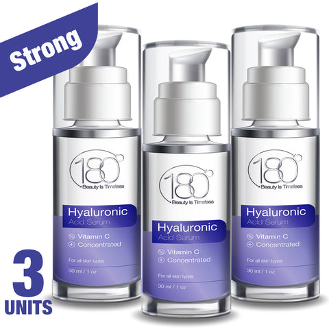 3X Hyaluronic Acid Serum + Vitamin C (30ml)