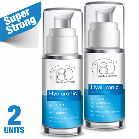 2x Hyaluronic Acid Serum FORTE + Vitamin C (30ml)
