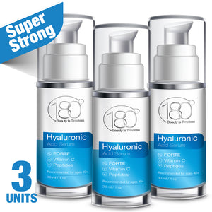 3x Hyaluronic Acid Serum FORTE + Vitamin C (30ml)