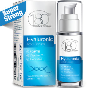 Hyaluronic Acid Serum FORTE + Vitamin C (30ml)