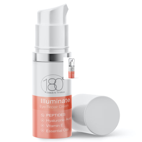 Peptides Duo - Hyaluronic Serum with Peptides & Illuminating Eye Cream