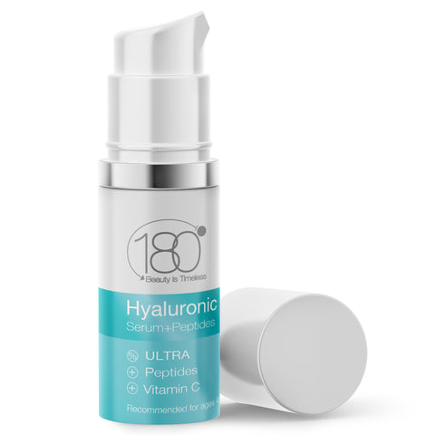 Image of Peptides Duo - Hyaluronic Serum with Peptides & Illuminating Eye Cream