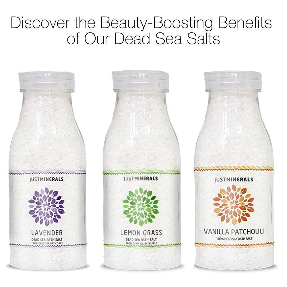 Dead Sea Bath Salt Lavender by Just Minerals