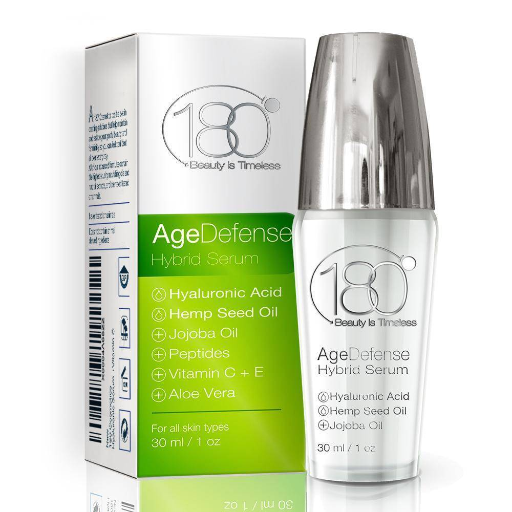Age Defense Anti Aging Serum - Innovative Skin Care Wrinkle Eraser