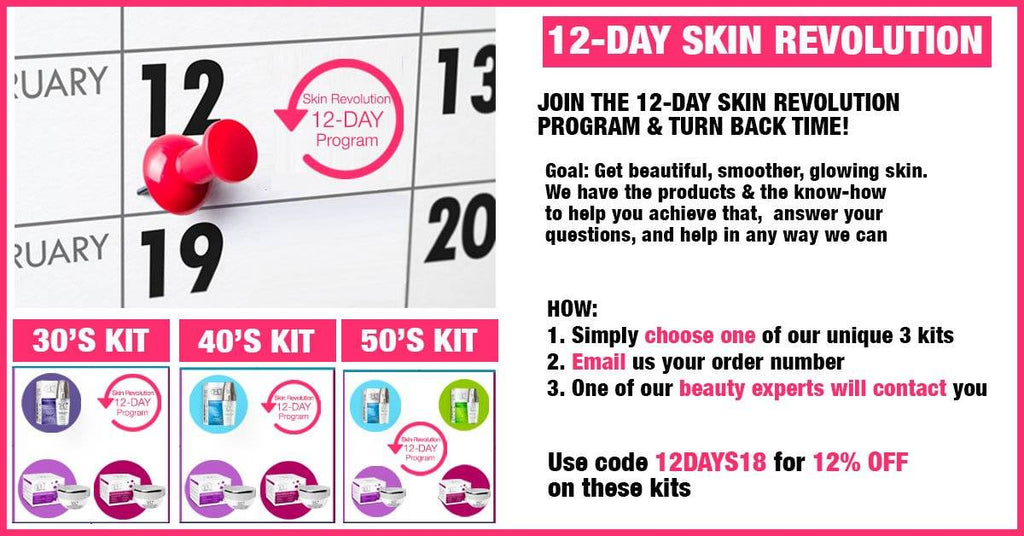 12 Days Beauty Package – SKIN REVOLUTION PROGRAM