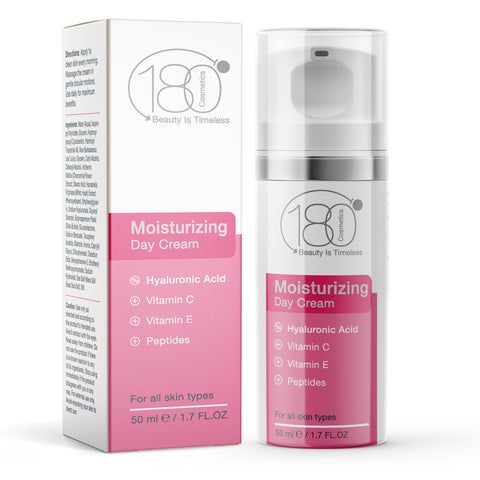 Moisturizing Day Cream - Concentrated Hydrating Cream for Face
