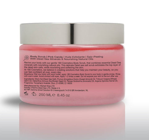 Salt and Oil Body Scrub - Pink Candy