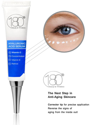 Image of Hyaluronic Acid Serum + Vitamin C FORTE  (Corrector Tip)