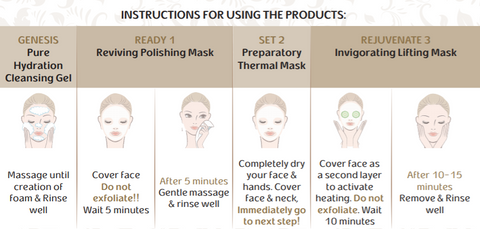 Image of Rejuvenating Intensive Face Lifting Mask - By Briaa
