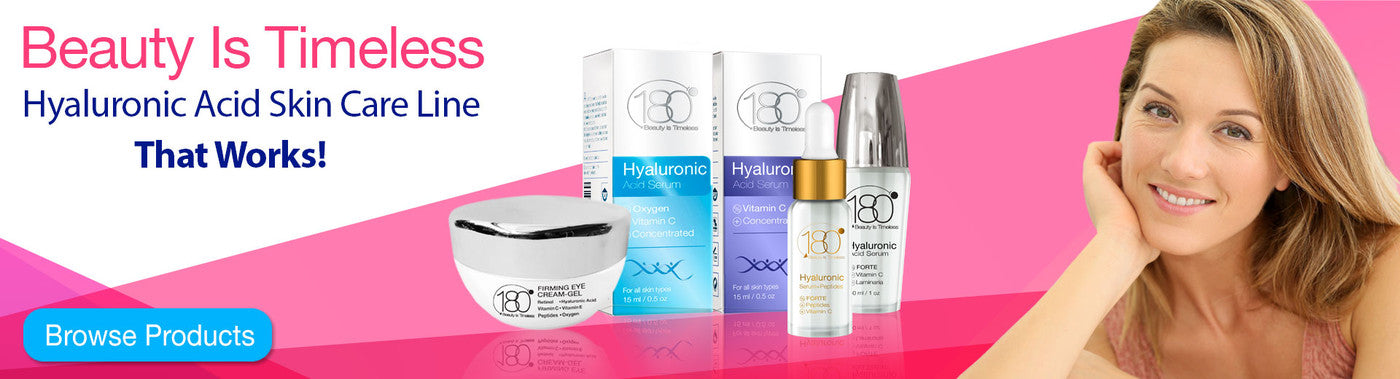 180 Cosmetics Hyaluronic Acid Skin Care Collection