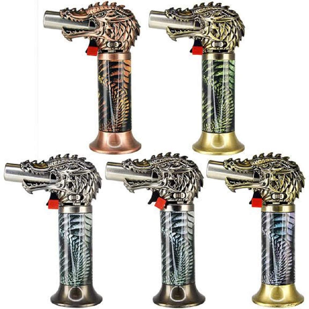 Dragon Head Jumbo Torch REFILLABLE Butane Lighter