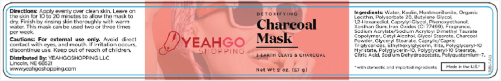 YEAHGOSHOPPING DETOXIFYING CHARCOAL MASK - 2 OZ (57G) MADE IN USA