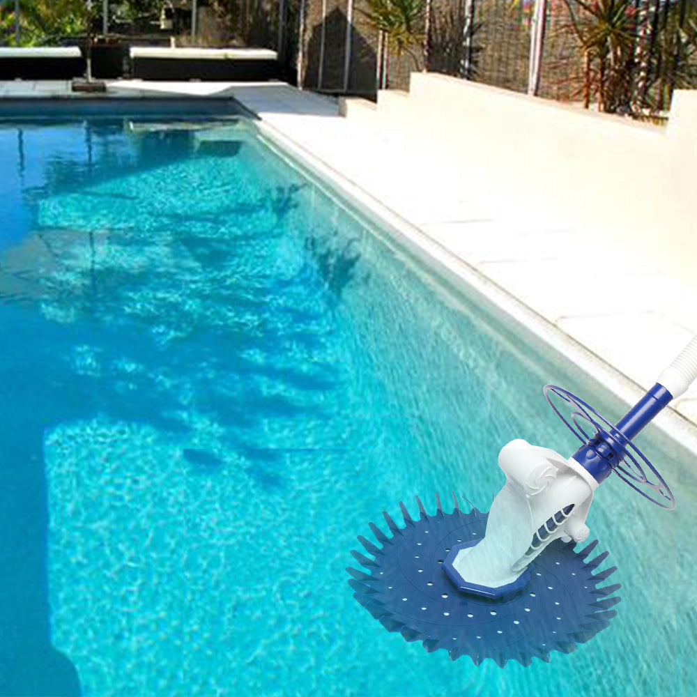 Swimming Pool Cleaner,Pool Vacuum Sweeper , Easy Assemble Pool Cleaner,Suit for In Ground Pool Without Power ,Suit for In Ground Pool with Pump XH
