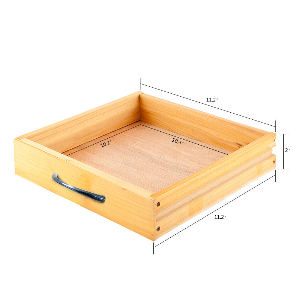 Free shipping Portable Rolling Drop Leaf Kitchen Storage Trolley Cart Island Sapele Color  YJ