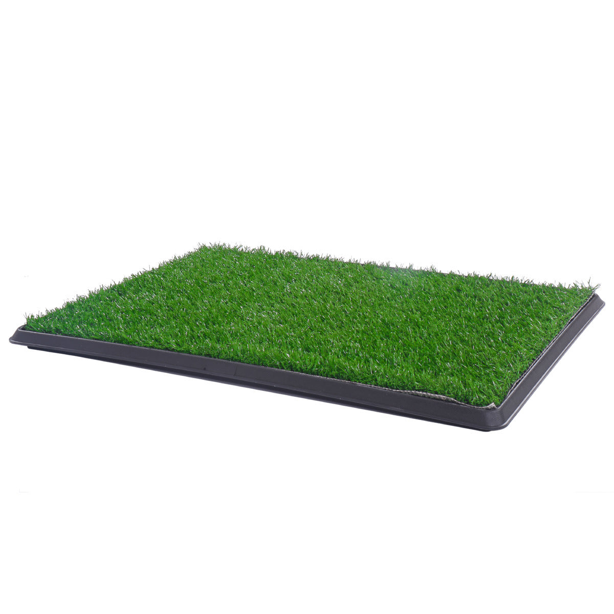 Pet Toilet, Puppy Dog Pet Potty Training Pee, Artificial Grass Pad with Tray (30''X20''), Replacement Dogs Turf Potty Training for Indoor Apartment