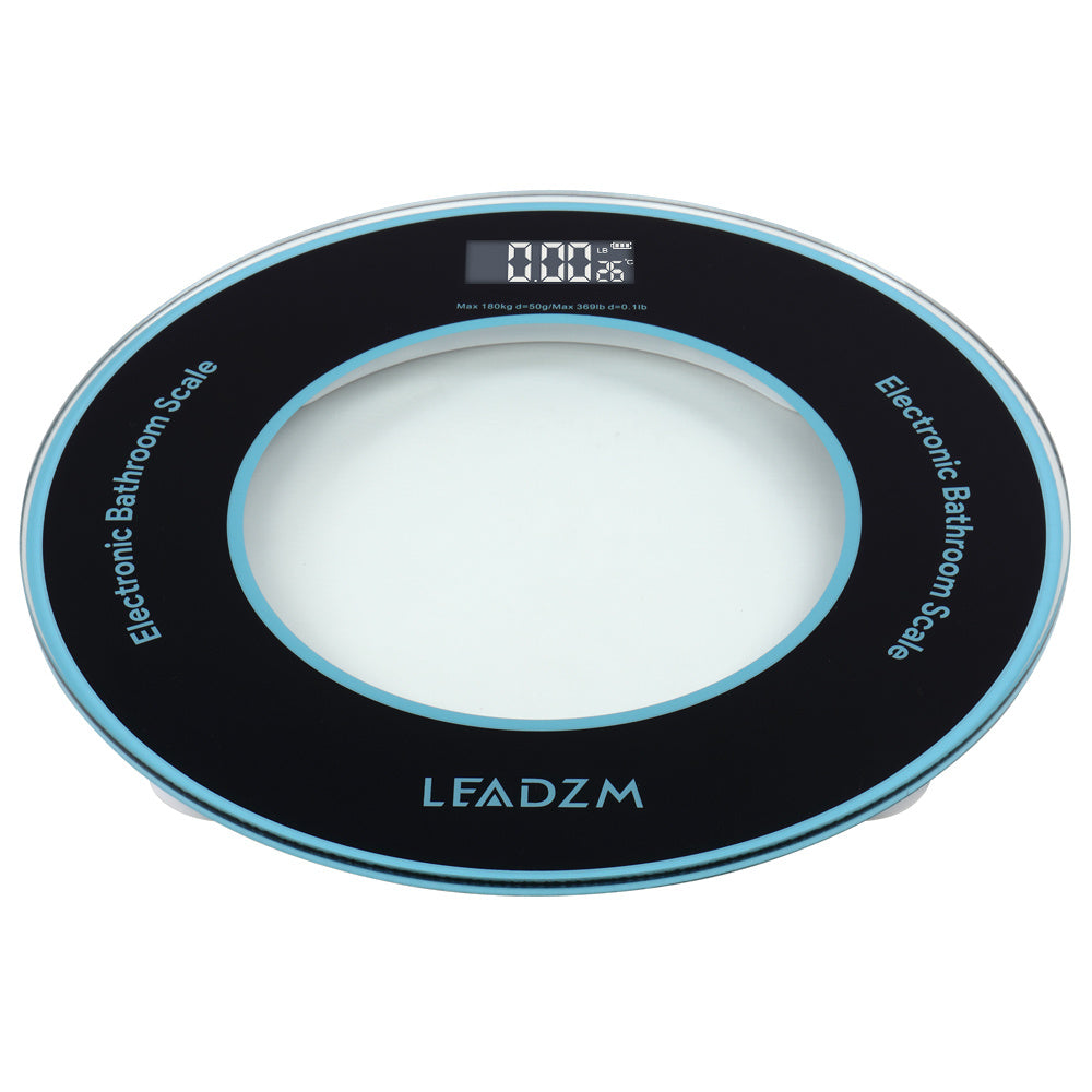 LEADZM 180Kg/50g Compact Disc Model Personal Weighing Bathroom Scale RT