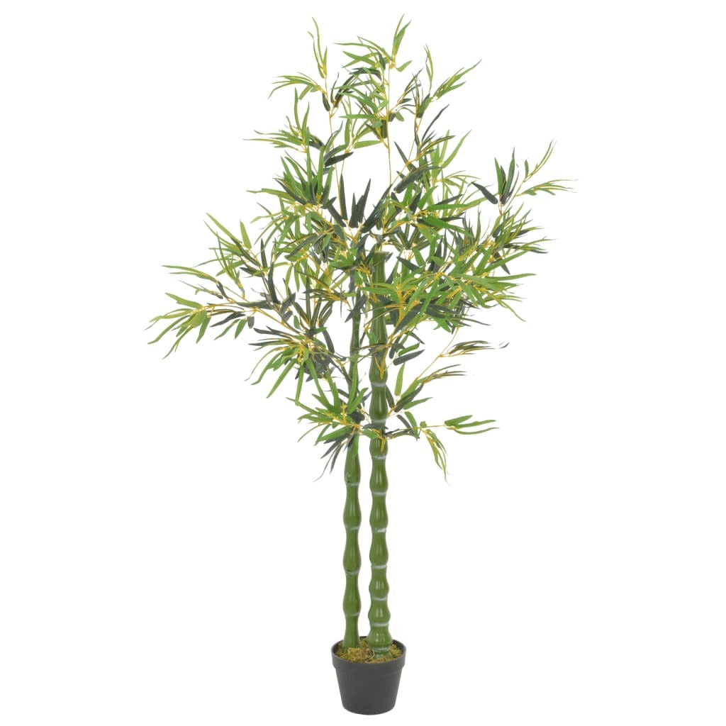 Artificial Plant Bamboo with Pot Green 63""